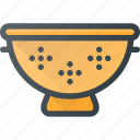 filter, kitchen, pasta, sieve icon