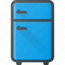 cold, freeze, fridge, kitchen, refregirator icon