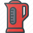 frier, kettle, kitchen, water icon