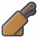 block, holder, kitchen, knife icon