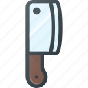 cut, hatchet, kitchen, knife icon