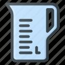cup, kitchen, liquid, liter, measuring