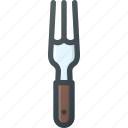 fork, kitchen, restaurant icon