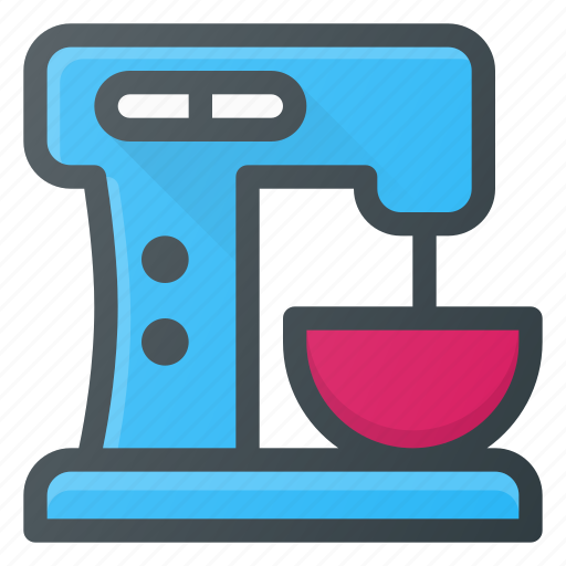 blender, kitchen, mixer, stand icon