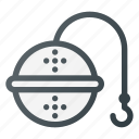 filter, kitchen, sieve, tea icon