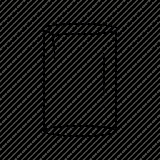 beaker, chemistry, empty, glass, lab, laboratory, measure icon