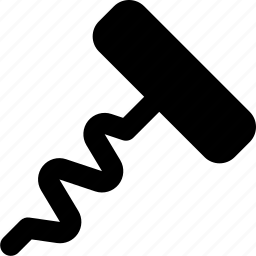 cork, screw icon
