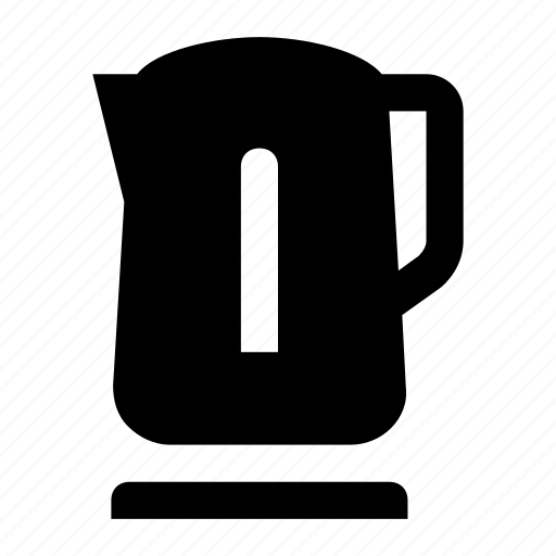 boiling water, electric kettle, hot water, kettle, kitchen, tea icon