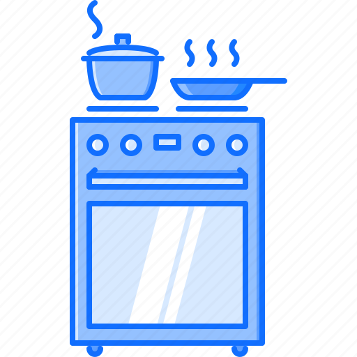 chef, cook, cooking, kitchen, stove icon