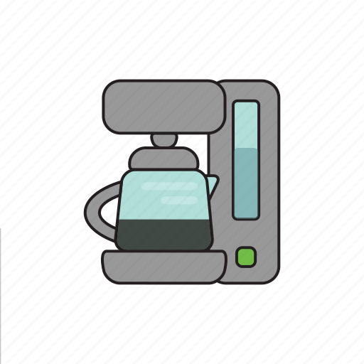 coffee, coffee maker, cooking, dishes, drink, food, kitchen icon