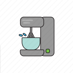 beat, blender, cooking, dishes, food, kitchen, mixer icon