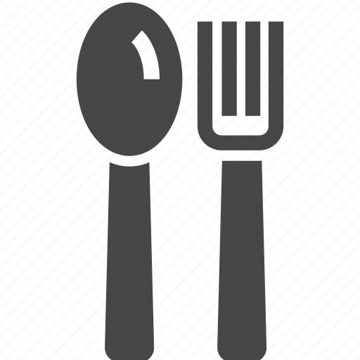 breakfast, cafe, canteen, dinner, food, fork, knife icon