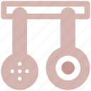 cooking, food, kitchen, restaurant, spoons, tools icon