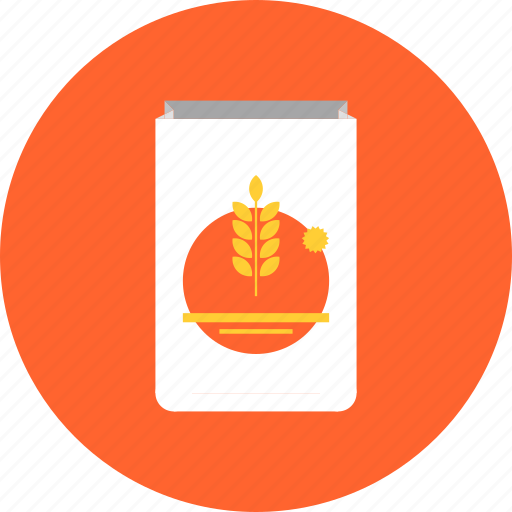 baking, cereal, flour, food, grain, ingredient, oat, pack, powder, wheat icon