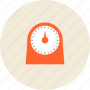 alarm, clock, cook, cooking, household, kitchen, kitchenware, timer icon
