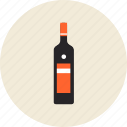 alcohol, beverage, bottle, drink, grappa, oil, wine icon