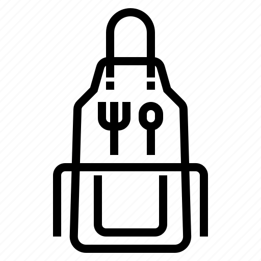 apron, cooking, food, kitchen, pocket icon