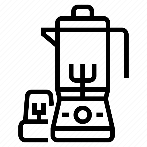 Blender, cookware, juice, kitchen, mixer, smoothie icon - Download on Iconfinder