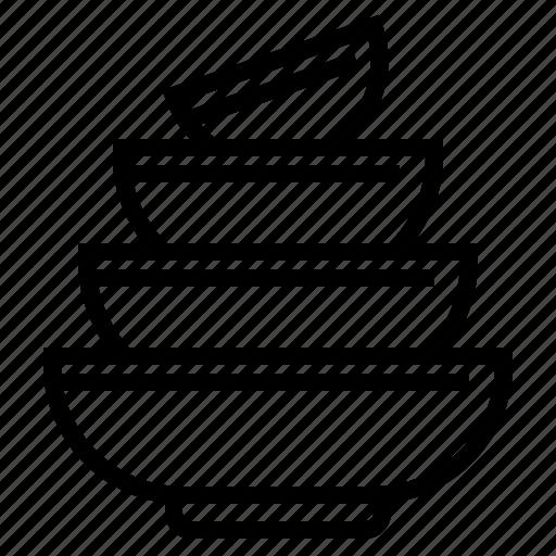 Bowls, food, kitchen, restaurant, soup icon - Download on Iconfinder