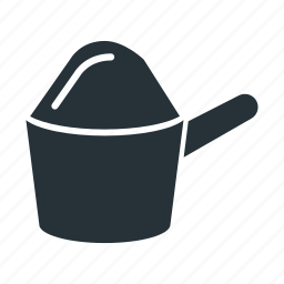 flour, food, kitchen, scoop icon