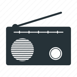 listen, music, radio, speaker icon