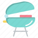 breakfast, chicken, cooking, kitchen, roaster, toaster icon
