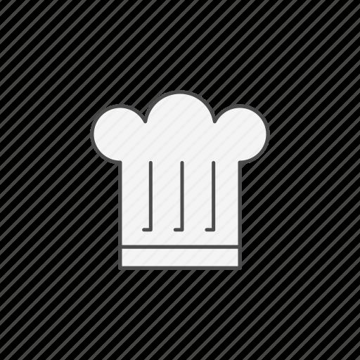 chef, cooking, hat, kitchen icon
