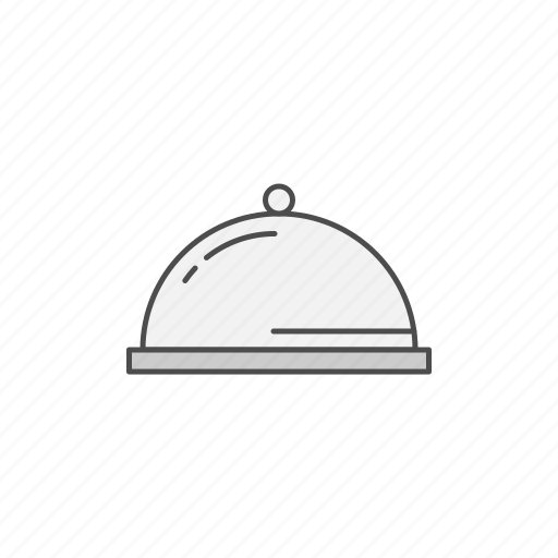 dinner, dish, meal, restaurant icon