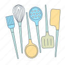 bake, cooking, hand tools, kitchen, kitchen appliances, kitchen tools, making food icon