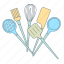 cook, cooking, hand tools, kitchen appliances, kitchen tools, making food, meal icon