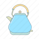 coffee, electronic, hot drink, kettle, kitchen appliance, kitchenware, tea icon