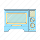 cook, electronic, hot, kitchen appliance, kitchenware, microwave, oven icon