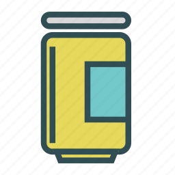 can, container, jar icon