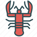 crab, food, lobster, sea icon