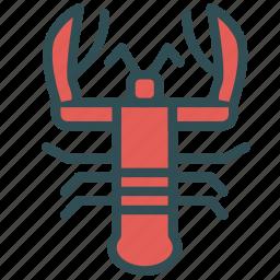 crab, food, lobster, sea icon