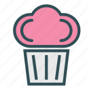 candy, cupcake, food, sweet icon
