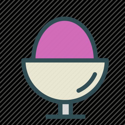 boiled, breakfast, egg, food icon