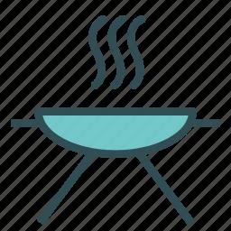 barbecue, equipment, grill icon