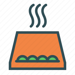 bowl, container, food, hot icon