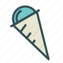 candy, cone, cream, ice, sweet icon