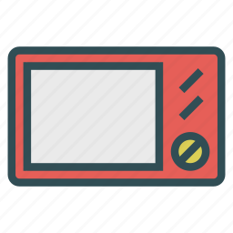 electrical, equipment, microwave, oven icon