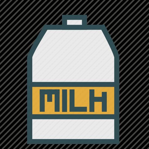 bottle, container, milk icon