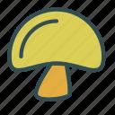 food, fungus, mushroom, toadstool icon