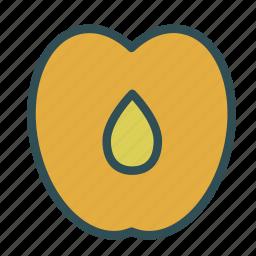 food, fruit, healthy, peach, sweet icon