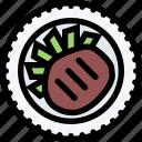 beefsteak, restaurant, food, fast food, cafe, kitchen icon