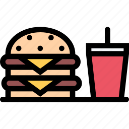 burger, cafe, fast food, food, kitchen, restaurant icon