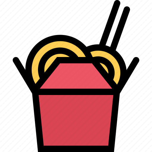 cafe, chinese, fast food, food, kitchen, noodles, restaurant icon