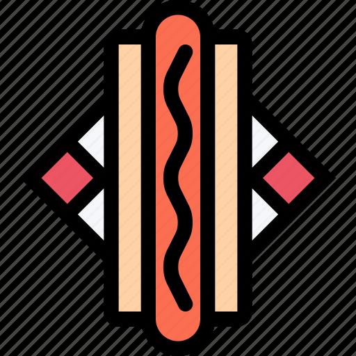 cafe, dog, fast food, food, hot, kitchen, restaurant icon