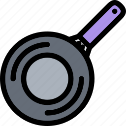 cafe, fast food, food, kitchen, pan, restaurant icon