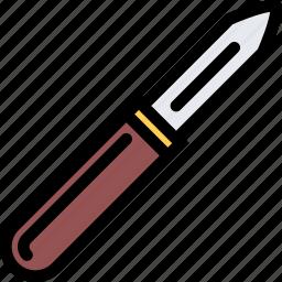 cafe, fast food, food, kitchen, knife, potato, restaurant icon